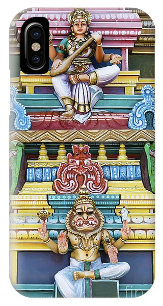 Hindu Temple Deity Statues IPhone Case