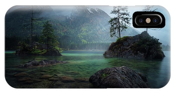 Spring Mountains iPhone Case - Hinterisland 2. by Juan Pablo De