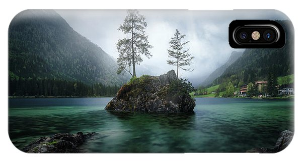 Spring Mountains iPhone Case - Hinterisland by Juan Pablo De