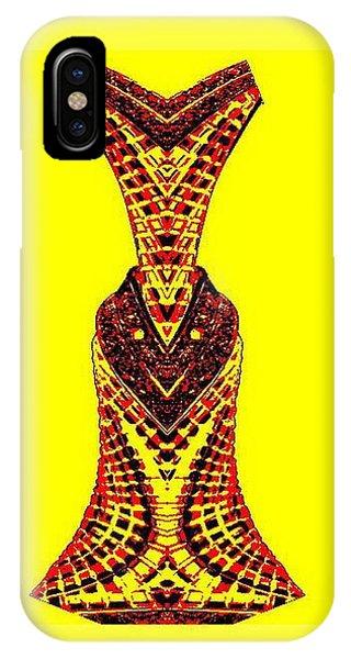 Hippy Dress IPhone Case