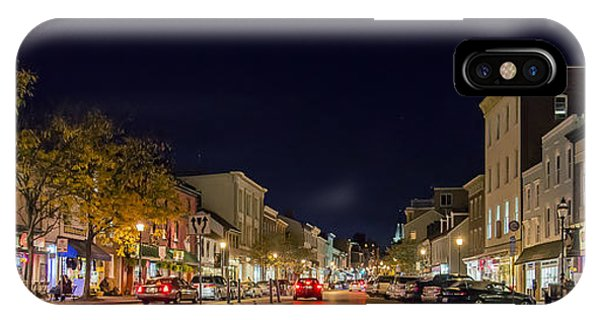 Historic Annapolis - Pano IPhone Case