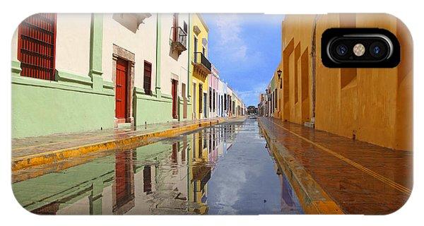 Historic Campeche Mexico  IPhone Case