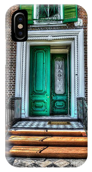Historic Charleston Sc Door IPhone Case