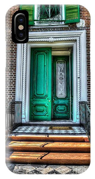Historic Charleston Sc Door IPhone Case