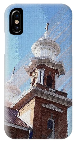 Historic Church Steeples IPhone Case