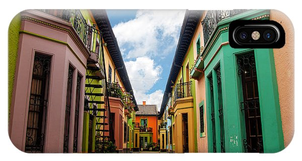 Colombia iPhone Case - Historic Colorful Buildings by Jess Kraft