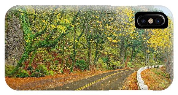 Historic Columbia Gorge Highway IPhone Case
