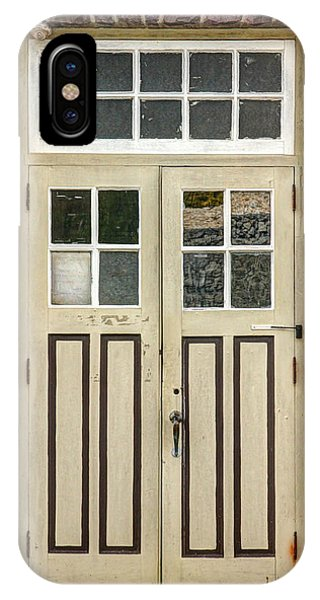 Historic Doors I Phone Case by Lisa Hurylovich