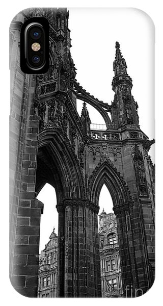 Historic Edinburgh Architecture IPhone Case
