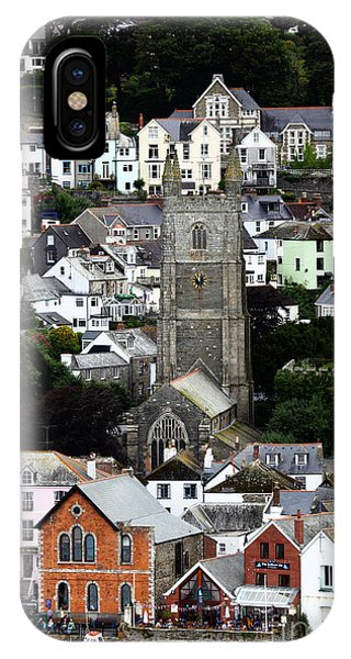 Historic Fowey IPhone Case