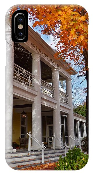 Historic Inn In Ashland Va IPhone Case