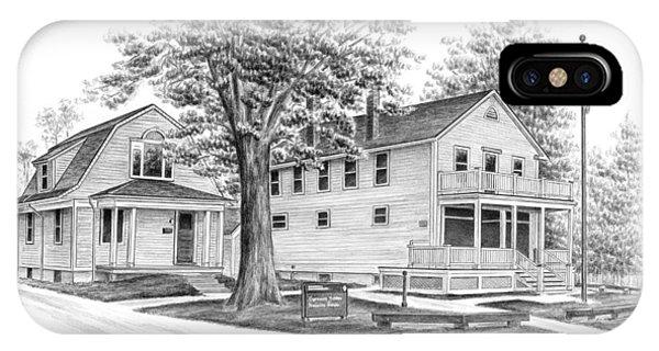 Historic Jaite Mill - Cuyahoga Valley National Park IPhone Case