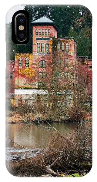 Historic Old Brewery By Creek IPhone Case