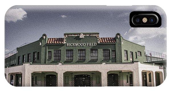 Historic Rickwood Field IPhone Case