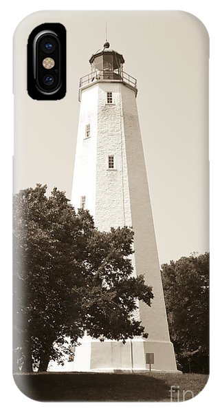 Historic Sandy Hook Lighthouse IPhone Case