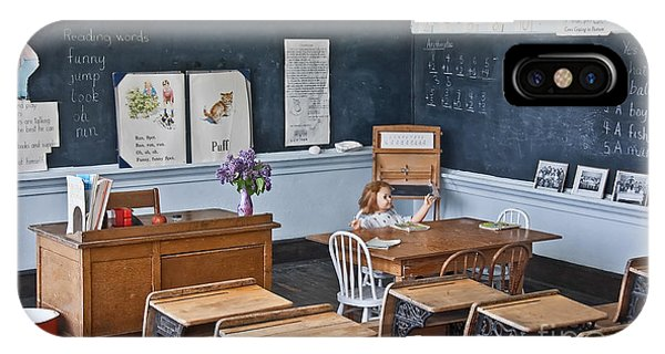 Historic School Classroom Art Prints IPhone Case
