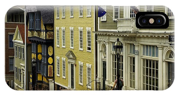 Historic Street In Providence Ri IPhone Case