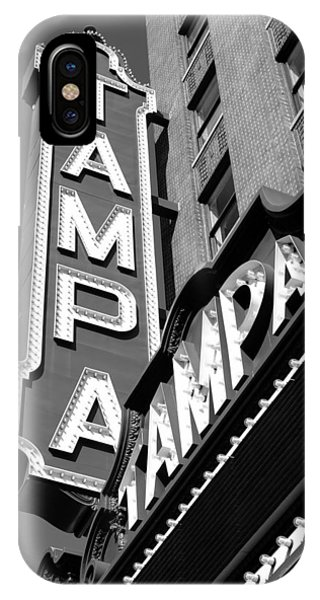 Historic Tampa IPhone Case