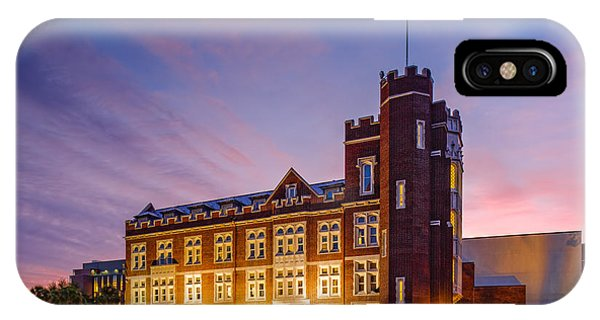 Marquette iPhone Case - Historic Thomas Hall At Loyola University - New Orleans Louisiana by Silvio Ligutti