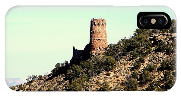 Historic Tower Of Grand Canyon Phone Case by John Potts