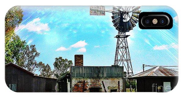 Historic Village Of Jandowae IPhone Case