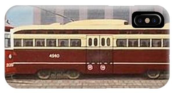 History Of The Toronto Streetcar IPhone Case