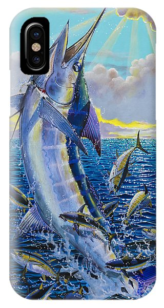 Skipjack iPhone Case - Hit And Miss Off0084 by Carey Chen