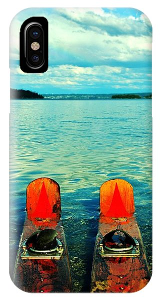 Water Ski iPhone Case - Hit It by Benjamin Yeager