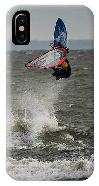 Hitting A Wave 1 IPhone Case