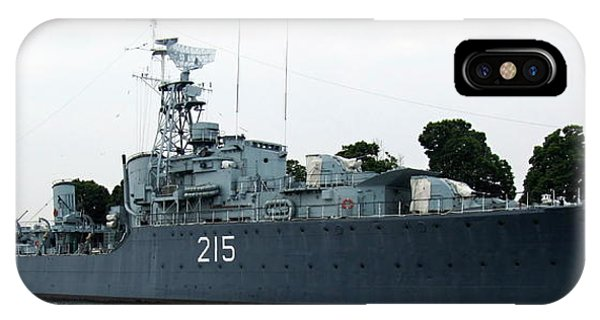 Hmcs Haida Twin Gun Tribal Class Destroyer  IPhone Case