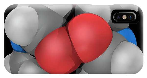 Organic Matter iPhone Case - Hmtd Explosive Molecule by Laguna Design/science Photo Library