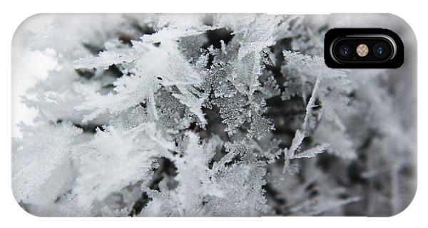 Hoar Frost In November IPhone Case