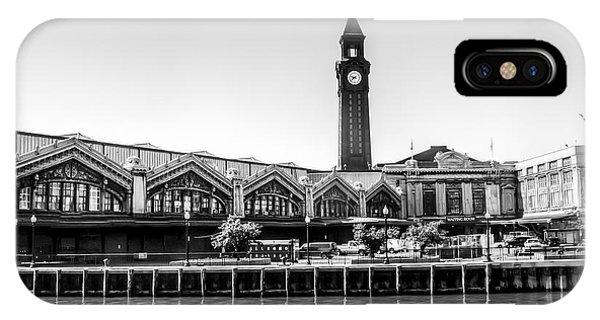 Hoboken Terminal Tower IPhone Case