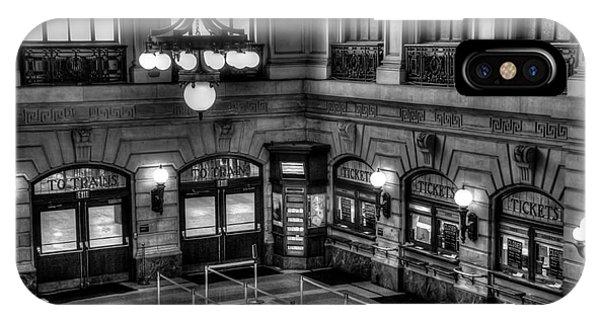 Hoboken Terminal Waiting Room IPhone Case