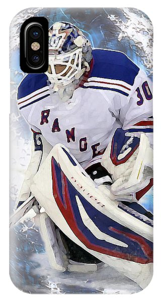 Hockey Goalie IPhone Case