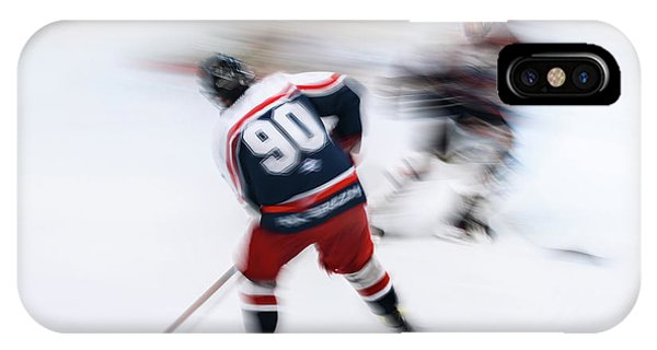 Action iPhone X Case - Hockey U18_2 by Dusan Ignac