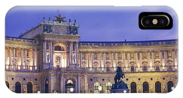 Hofburg Imperial Palace, Heldenplatz IPhone Case