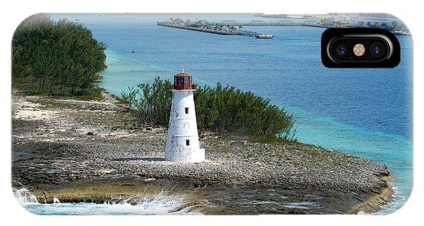 Hog Island Lighthouse 2 IPhone Case