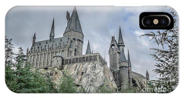 Hogwarts iPhone Case - Hogswarts Castle  by Edward Fielding