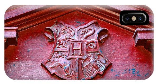 Hogwarts iPhone Case - Hogwarts Crest by David Lee Thompson