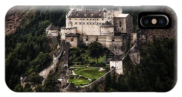 IPhone Case featuring the photograph Hohenwerfen Castle by Ryan Wyckoff