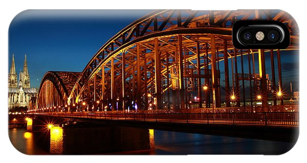 Hohenzollern Bridge IPhone Case