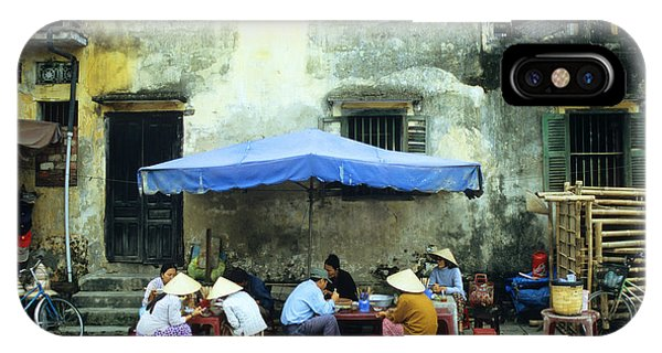 Hoi An Noodle Stall 02 IPhone Case