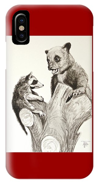Holding Ones Ground IPhone Case