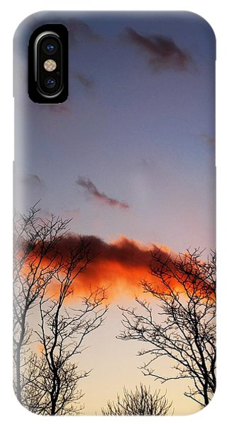 Holding Up The Cloud IPhone Case