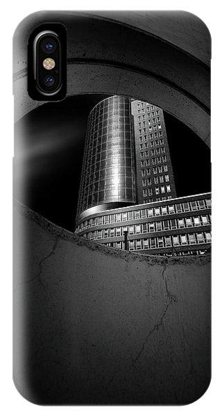 Germany iPhone Case - Hole by Matthias Hefner