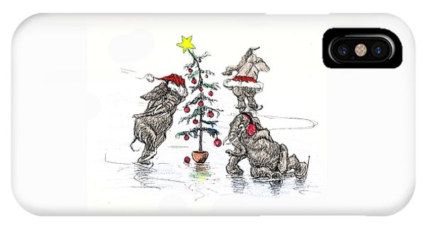 Holiday Ice IPhone Case