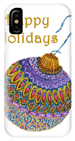 Holiday Ornament Phone Case by Debra Spinks