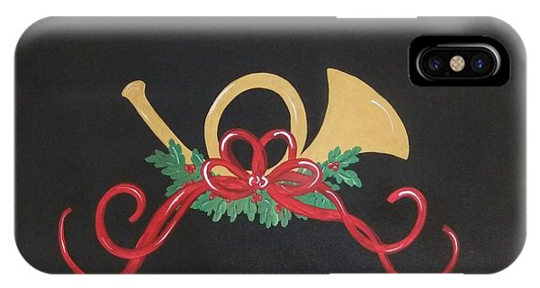 Holiday Sounds With Mistletoe IPhone Case