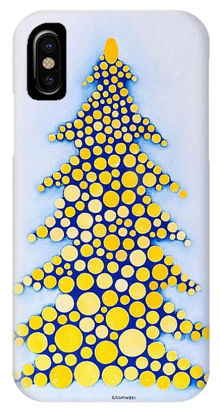 Holiday Tree #2 IPhone Case